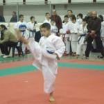 Mirko Barreca in azione