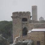 Neve a Tarquinia