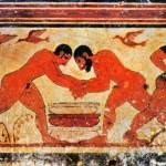 Pitture etrusche alla Necropoli di Tarquinia