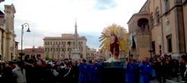 Il Cristo Risorto in Piazza