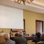 il Presidente Antonelli durante la Conferenza sulle proprietà collettive