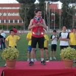 Ricci sul podio a Roma