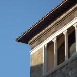 Tarquinia - Palazzo Vitelleschi, particolare