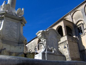 Tarquinia - Fontana monumentale - Foto Renato Rosati
