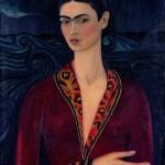 Frida Kahlo - Autoritratto con vestito di velluto