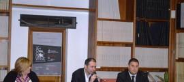 Al centro il giornalista Nicola Rao