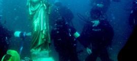 fondali statua Madonna dello Speronello