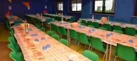 la nuova sala mensa