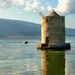 Orbetello Toscana mulino laguna