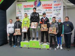 Trittico Laziale Trevignano podio Daniele Galletti