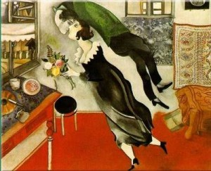 Marc Chagall - Il Compleanno (1915)