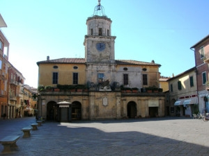 Orbetello Toscana orologio torre