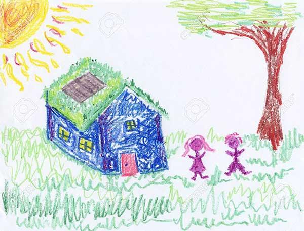 disegna per me la casa dei tuoi sogni scatta il