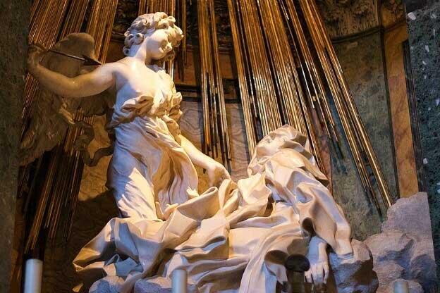 Lo Stile Di Bernini.A Roma La Luce Torna A Brillare Sulla Santa Teresa Del Bernini