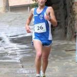 atletica boscarini Jacopo taglia il traguardo della scalata di vetulonia