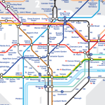 london tube map londra
