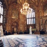 central lobby houses of parliament london