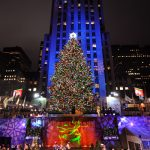 Rockefeller Center Christmas Tree Lighting nyc