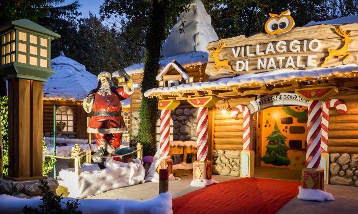 Immagini Del Villaggio Di Babbo Natale.Tolfa Tutto Pronto Per Il Villaggio Di Babbo Natale