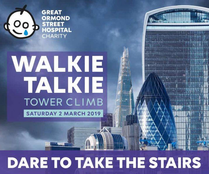 Walkie Talkie Tower Climb london
