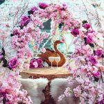 Cherry blossom igloos