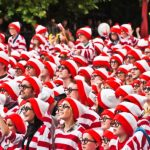 where is wally? fun run london